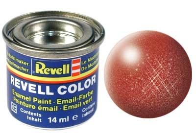 Revell Bronze Metallic - Enamel verf - 14ml - Revell - RV32195