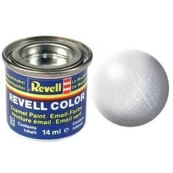 Aluminium Metallic - Enamel verf - 14ml - Revell - RV32199