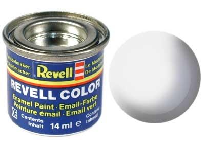 Revell White Silk - Enamel verf - 14ml - Revell - RV32301