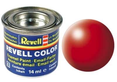 Revell Luminous Red Silk - Enamel verf - 14ml - Revell - RV32332