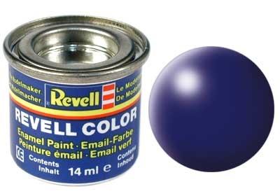 Revell Dark Blue Silk - Enamel verf - 14ml - Revell - RV32350