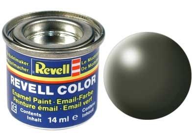 Revell Olive Green Silk - Enamel verf - 14ml - Revell - RV32361