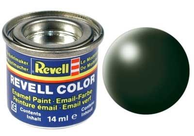 Revell Dark Green Silk - Enamel verf - 14ml - Revell - RV32363