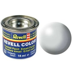 Light Grey Silk - Enamel verf - 14ml - Revell - RV32371