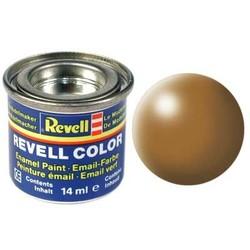 Wood Brown Silk - Enamel verf - 14ml - Revell - RV32382