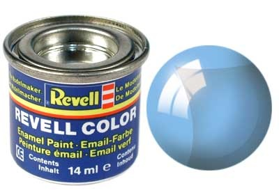 Revell Blue Clear - Enamel verf - 14ml - Revell - RV32752