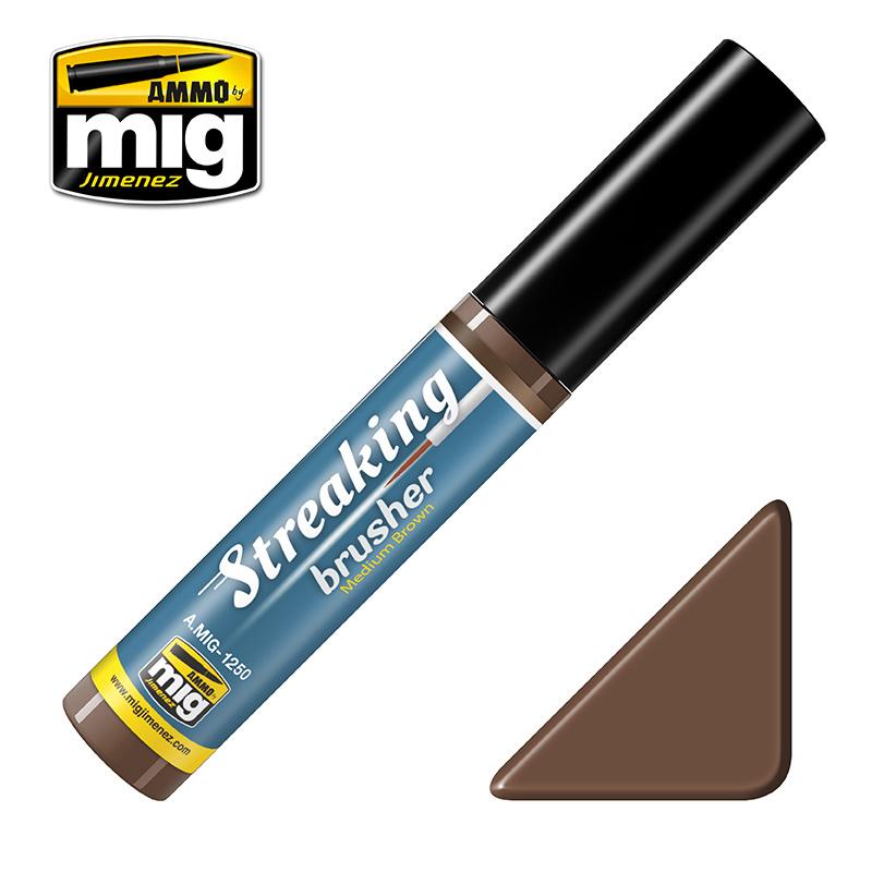 Ammo by Mig Jimenez Medium Brown  - 10ml - Ammo by Mig Jimenez - A.MIG-1250