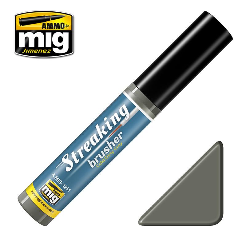 Ammo by Mig Jimenez Cold Dirty Grey - 10ml - Ammo by Mig Jimenez - A.MIG-1251