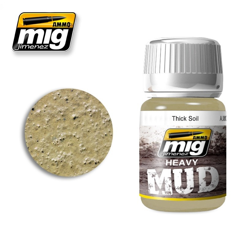 Ammo by Mig Jimenez Thick Soil - 35ml - Ammo by Mig Jimenez - A.MIG-1701