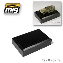 Base 12 X 8 X 3 Cm - Ammo by Mig Jimenez - A.MIG-8053