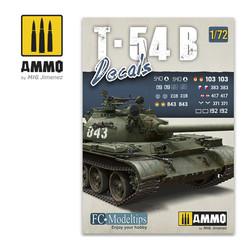 T-54B. Decals 1/72  - Ammo by Mig Jimenez - A.MIG-8062