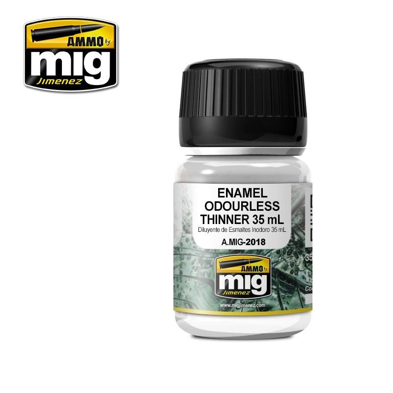 Ammo by Mig Jimenez Enamel Ouderless Thinner - 35ml - Ammo by Mig Jimenez - A.MIG-2018