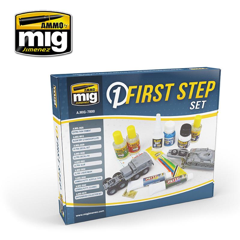 Ammo by Mig Jimenez First Steps Set - Ammo by Mig Jimenez - A.MIG-7800