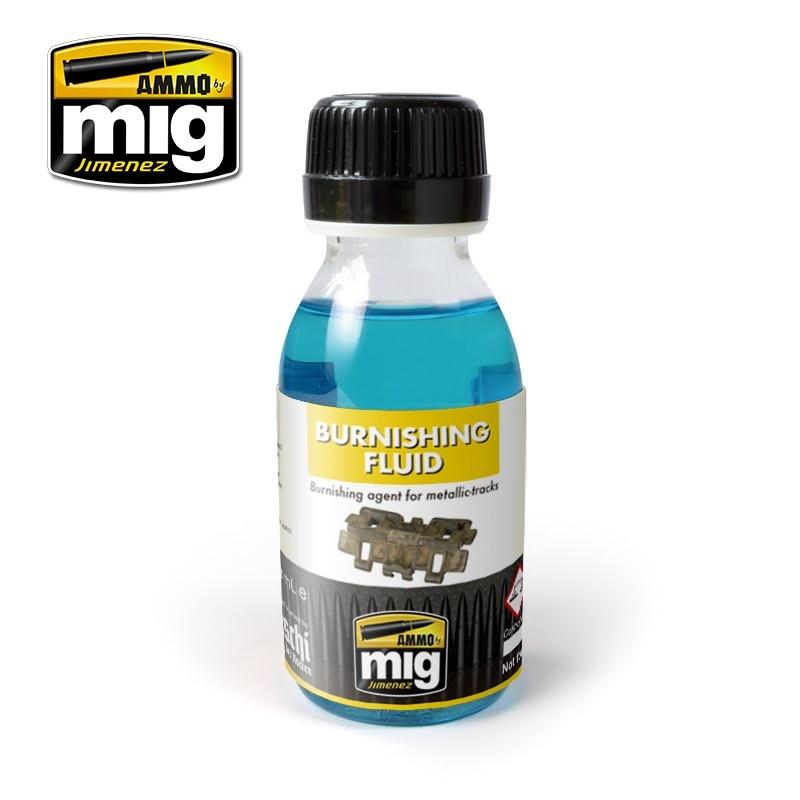 Ammo by Mig Jimenez Metallic Tracks Burnishing Fluid - 100ml - Ammo by Mig Jimenez - A.MIG-2020