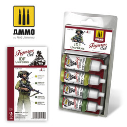 IDF Uniforms - Ammo by Mig Jimenez - A.MIG-7030