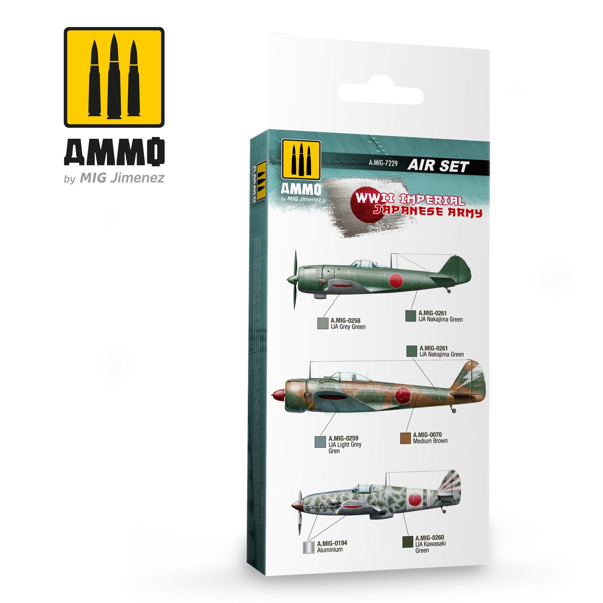 Ammo by Mig Jimenez WWII Imperial Japanese Army - Ammo by Mig Jimenez - A.MIG-7229