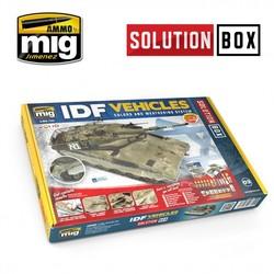 Solution Box 03 IDF Vehicles - Ammo by Mig Jimenez - A.MIG-7701