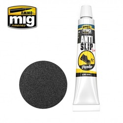 Anti-Slip Paste - Black Color For 1/72 - Ammo by Mig Jimenez - A.MIG-2034