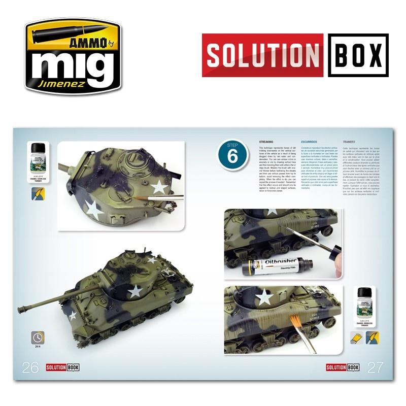 Ammo by Mig Jimenez Solution Box 01 WW II American ETO - Ammo by Mig Jimenez - A.MIG-7700