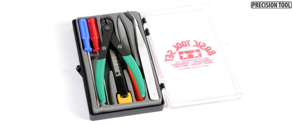 Tamiya Basic Tool Set - Tamiya - TAM74016