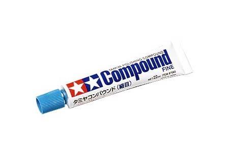 Tamiya Polishing Compound Fine - Tamiya - TAM87069