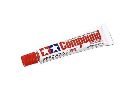 Tamiya Polishing Compound Coarse - Tamiya - TAM87068