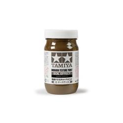 Diorama Texture Paint - Soil Effect, Dark Earth - 250ml - Tamiya - TAM87121