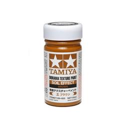 Diorama Texture Paint - Soil Effect: Brown - 100ml - Tamiya - TAM87108