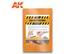 AK-Interactive Carving Foam 8Mm A4 Size (305 X 228 Mm) - AK-Interactive - AK-8095