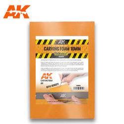 Carving Foam 10Mm A4 Size (305 X 228 Mm) - AK-Interactive - AK-8094