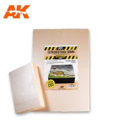 Extruded Foam 30 Mm A4 Size Already Cut (4 Units) - AK-Interactive - AK-8100