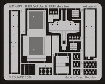 Eduard Rhino Anti Ied Device - Eduard - Scale 1/35 - EDD TP097