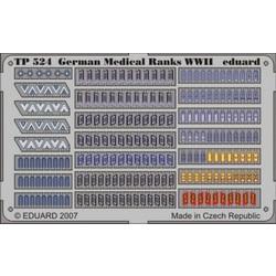 German Medical Ranks WWII - Eduard - Scale 1/35 - EDD TP524