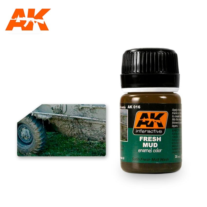 AK-Interactive Fresh Mud Effects - 35ml - AK-Interactive - AK-016