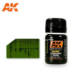 Streaking Grime For Dark Vehicles - 35ml - AK-Interactive - AK-024