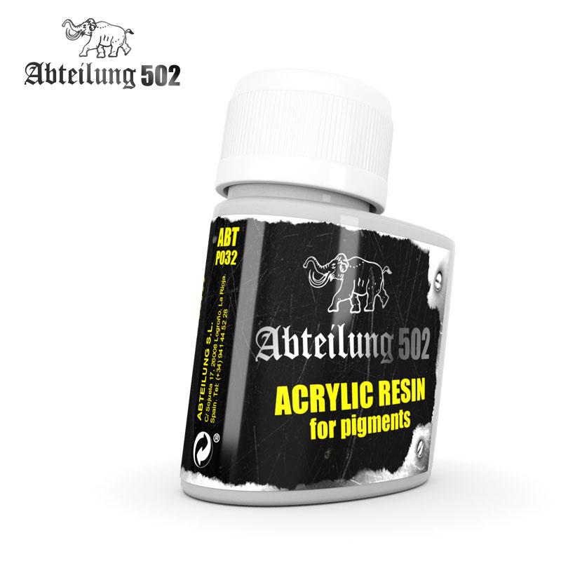 Abteilung 502 Acrylic Resin For Pigments - 75ml - Abteilung 502 - ABTP032