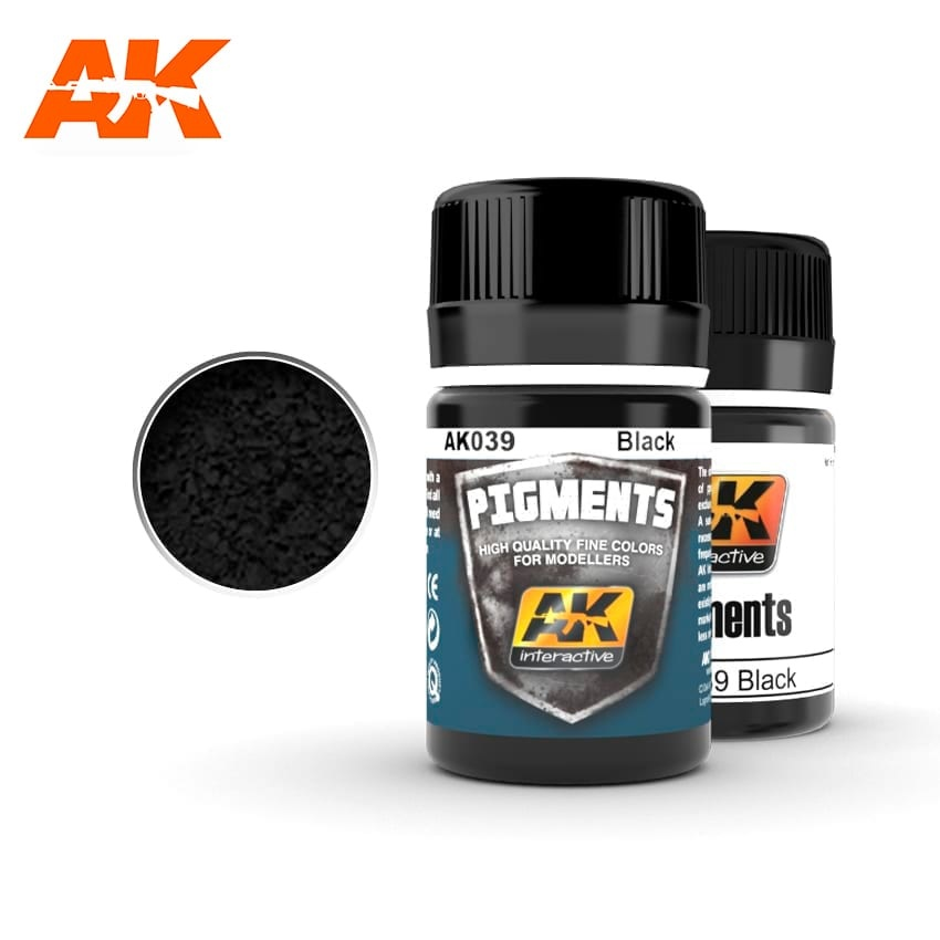 AK-Interactive Black - 35ml - AK-Interactive - AK-039