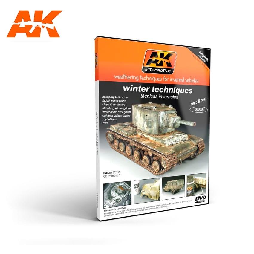 AK-Interactive Weathering Techniques For Winter Vehicles - AK-Interactive - AK-035DVD