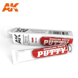 Modeling White Putty - 20ml - AK-Interactive - AK-103