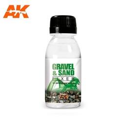 Gravel & Sand Fixer - 100ml - AK-Interactive - AK-118