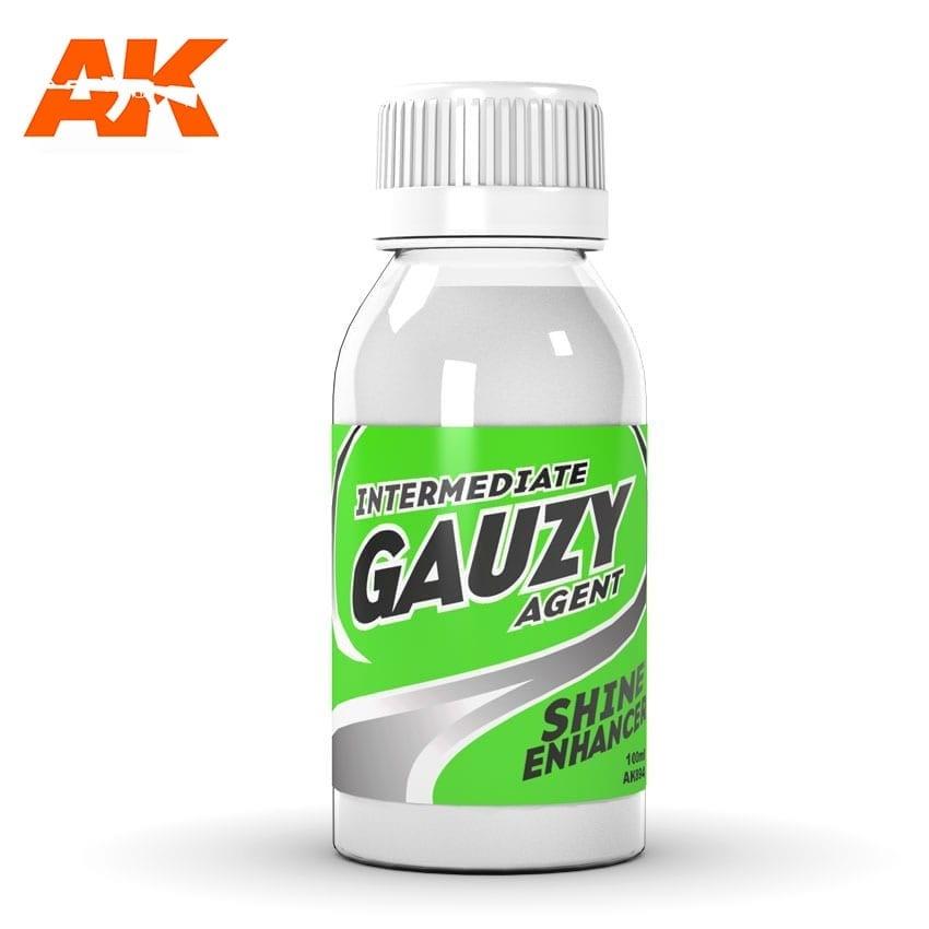 AK-Interactive Intermediate Gauzy Agent Shine Enhancer - 100ml - AK-Interactive - AK-894