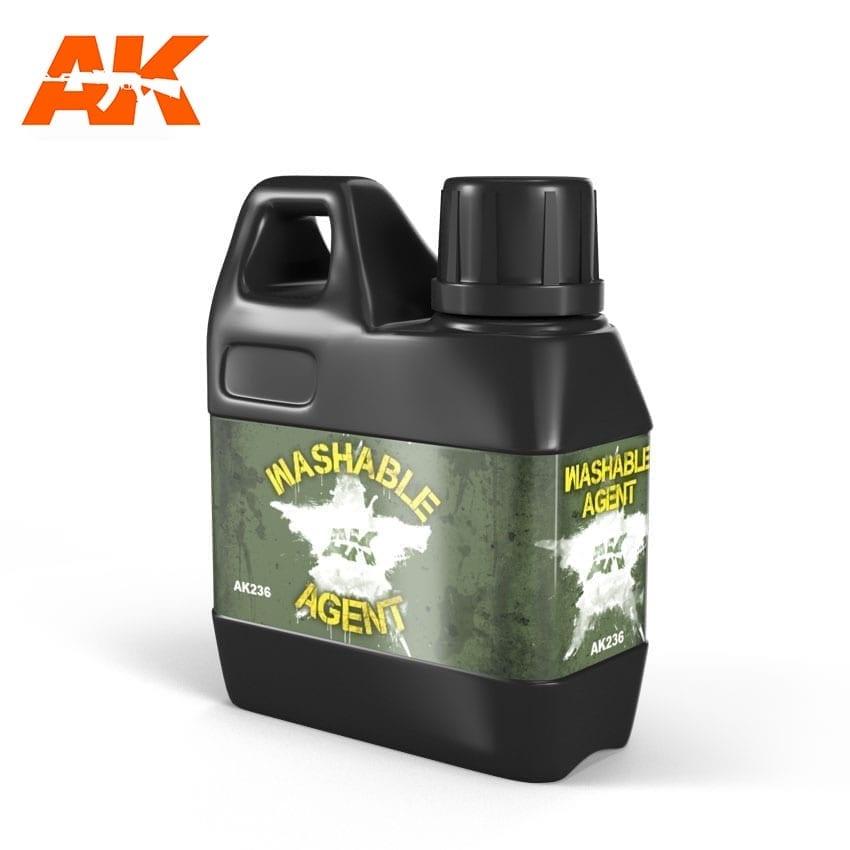 AK-Interactive Washable Agent - 100ml - AK-Interactive - AK-236