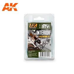 Interior Weathering - set - AK-Interactive - AK-091