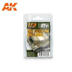 Dust Effects And White Spirit - set - AK-Interactive - AK-060
