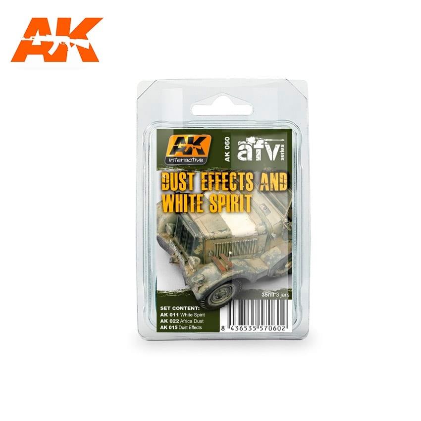 AK-Interactive Dust Effects And White Spirit - set - AK-Interactive - AK-060