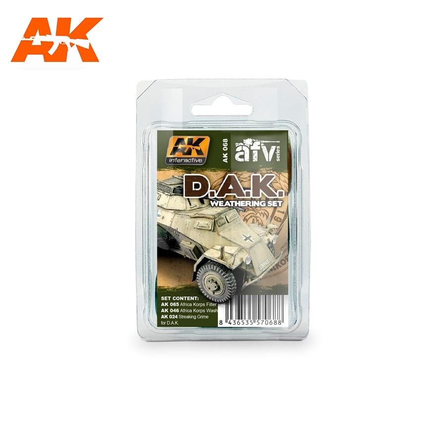 AK-Interactive Afrika Korps Weathering - set - AK-Interactive - AK-068