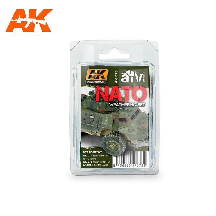 AK-Interactive Nato Weathering - set - AK-Interactive - AK-073