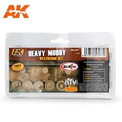 Heavy Muddy - set - AK-Interactive - AK-077