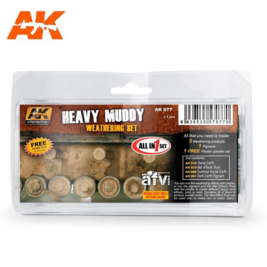 AK-Interactive Heavy Muddy - set - AK-Interactive - AK-077
