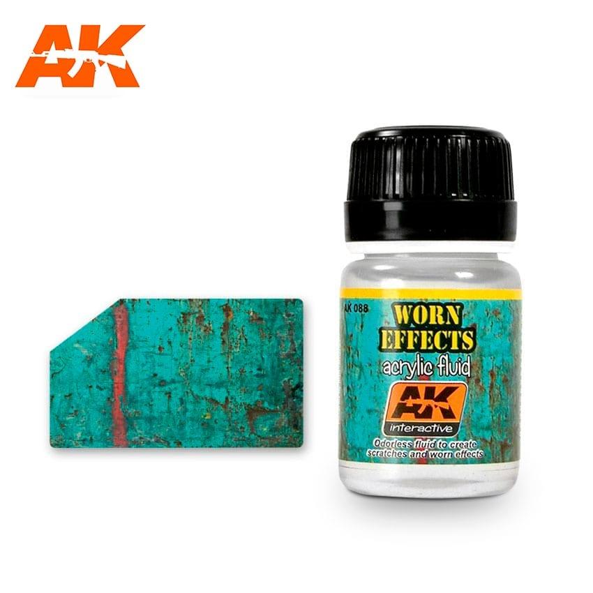 AK-Interactive Chipping Effects Acrylic Fluid - set - AK-Interactive - AK-088